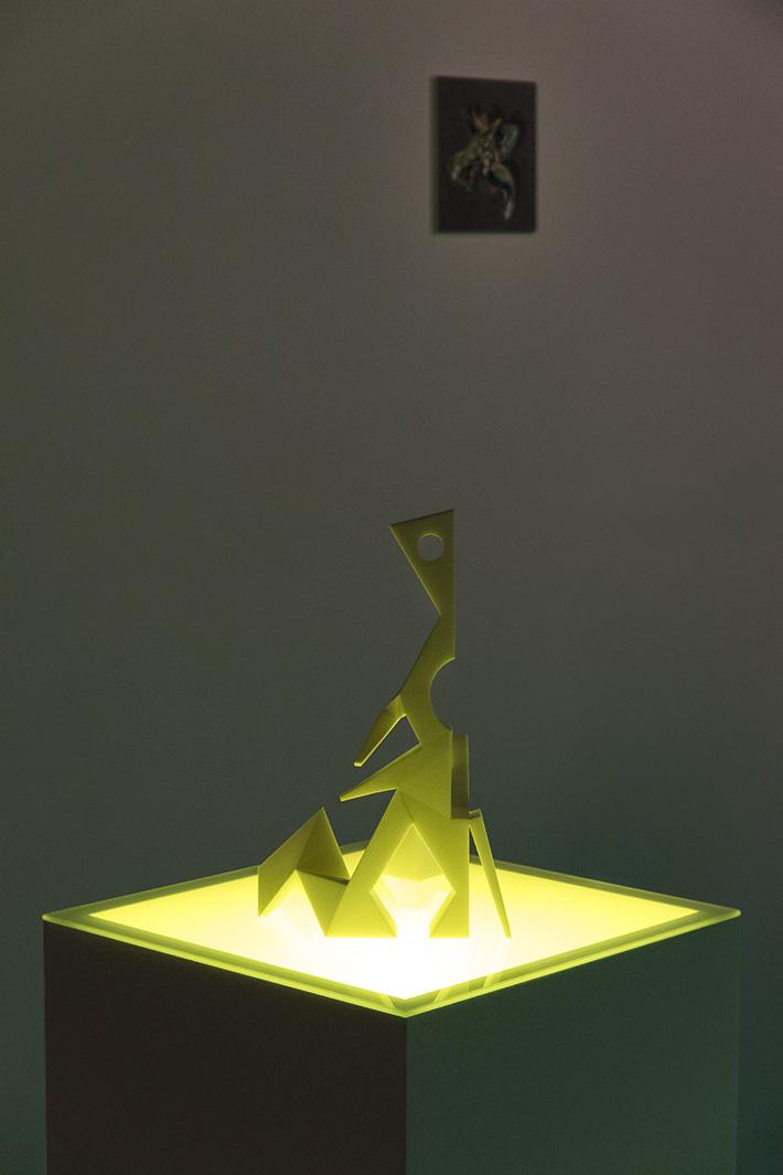 Refold XYZ_Ben Skea_2015_3D Printed Sculpture